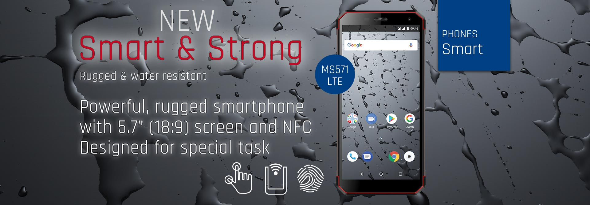 Telefoane Smart & Strong MS571 LTE